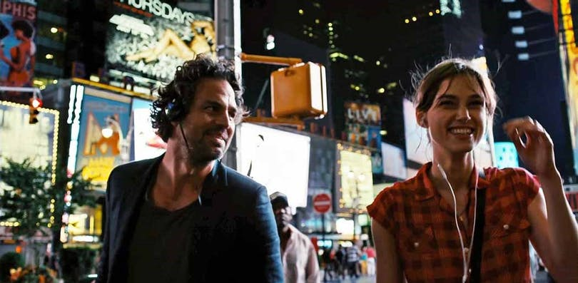 Mark Ruffalo och Keira Knightley i Begin Again