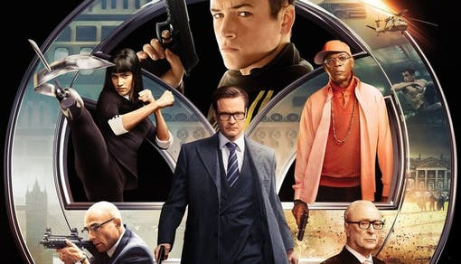 Stillbild ur Kingsman.