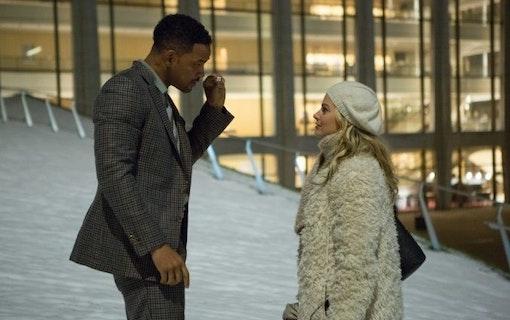 Will Smith och Margot Robbie i Focus.