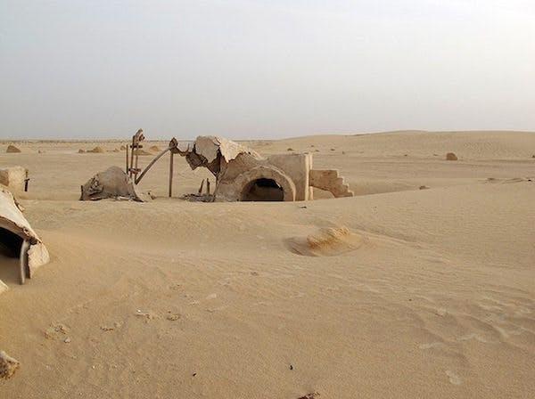 Övergivna filminspelningsplatser