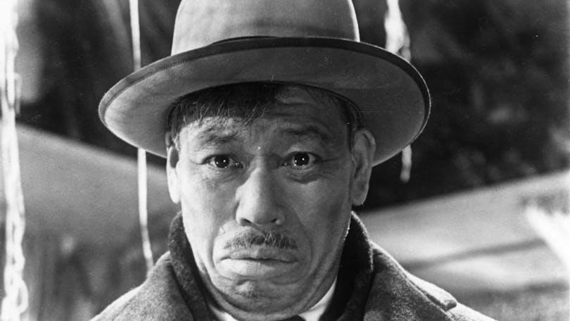 """Takashi Shimura i filmen """"Ikiru"""""""
