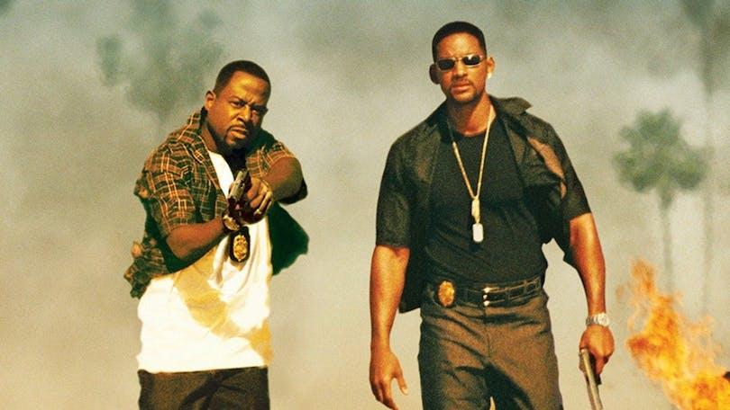 """Martin Lawrence och Will Smith i """"Bad Boys""""."""