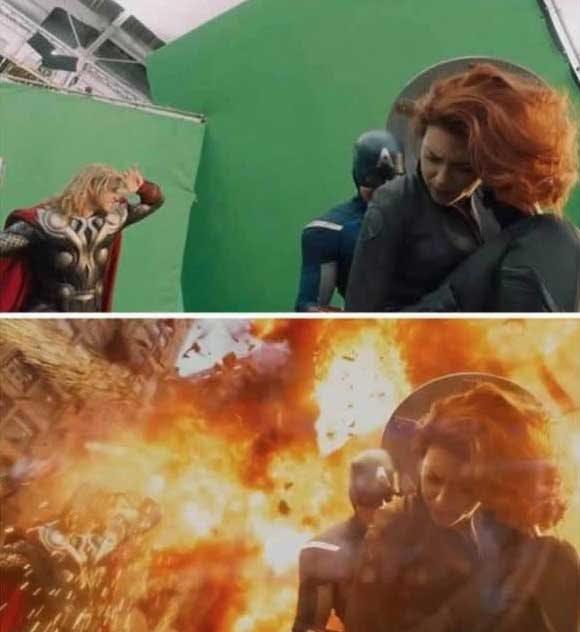10 bilder före och efter CGI
