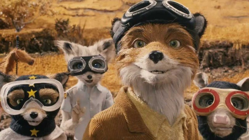 Djuren i Fantastic Mr. Fox.