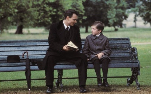 Stillbild ur Finding Neverland.