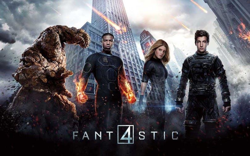 Medlemmarna i Fantastic Four (Fantastiska fyran)