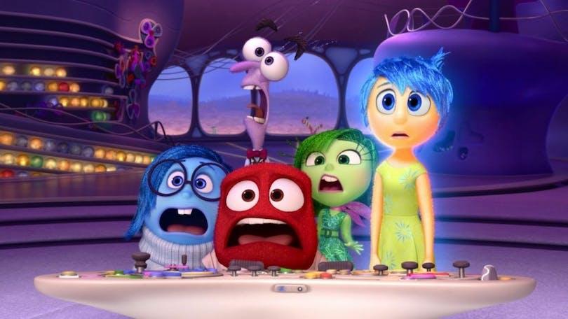 Känslorna i Pixars Inside Out, en av de bästa filmerna 2015.