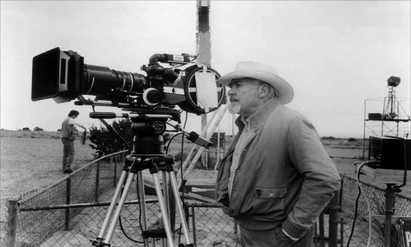 Robert Altman arbetar bakom kameran.