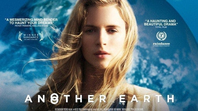 En filmposter för Sci-fi filmen Another Earth.