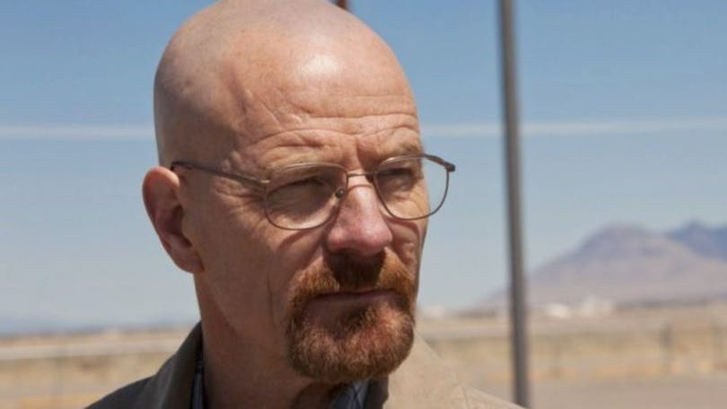 "Bryan Cranston i ""Breaking Bad"""