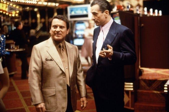 Joe Pesci och Robert De Niro i Martin Scorseses klassiker Casino
