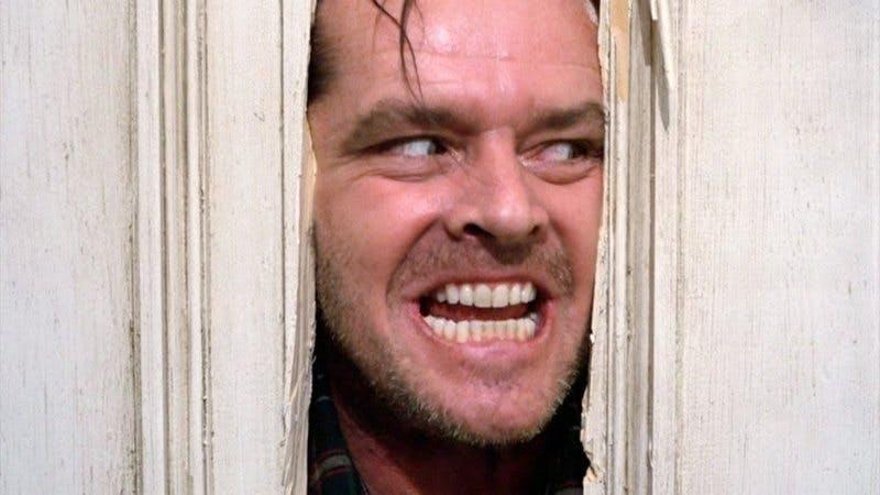 Jack Nicholson i The Shining.