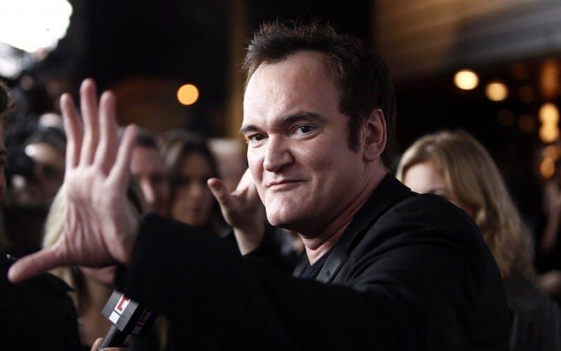"""Bild på Quentin Tarantino. I hans film """"Once Upon a Time in Hollywood"""" kommer Margot Robbie att spela Sharon Tate."""