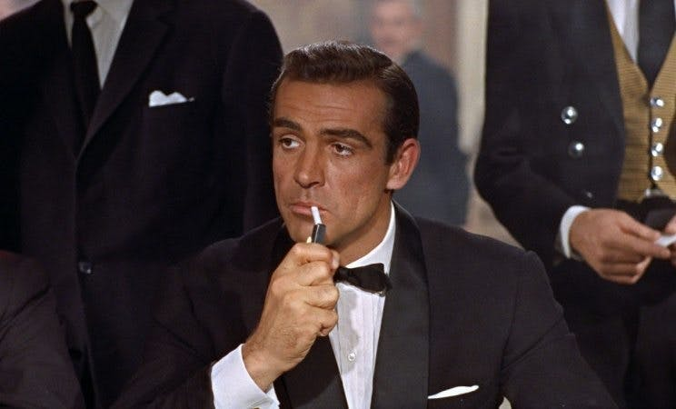 Sean Connery som James Bond.