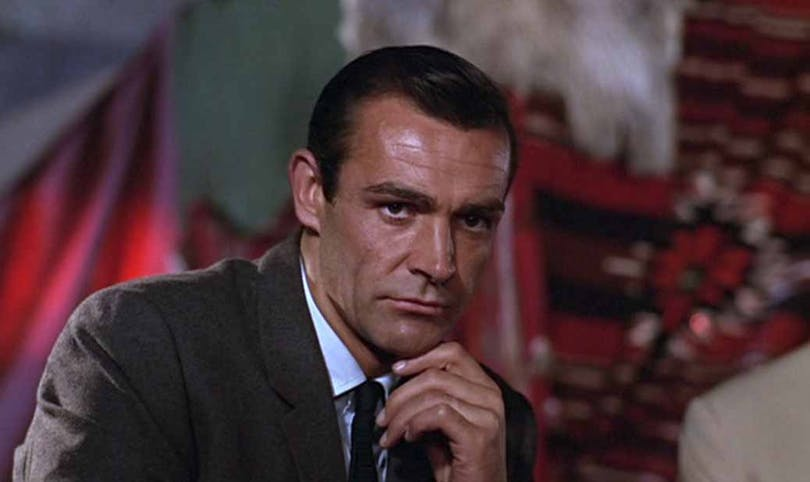 Sean Connery i From Russia With Love.