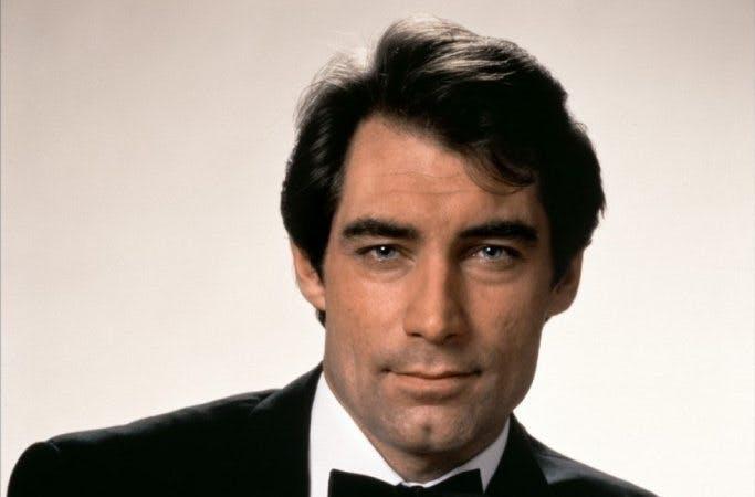 Timothy Dalton som James Bond.