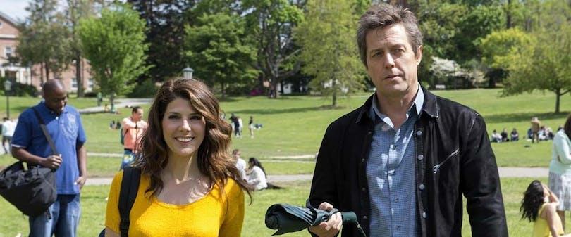 """Hugh Grant och Marisa Tomei i """"The Rewrite"""""""