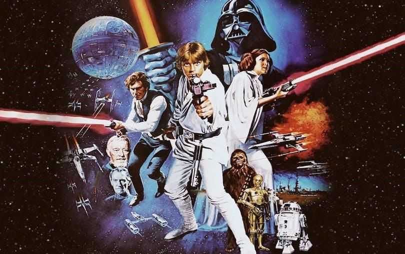 Se alla Star Wars filmer i rätt ordning!