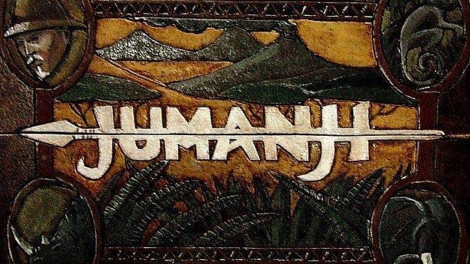 Brädspelet Jumanji i filmen med samma namn från 1995