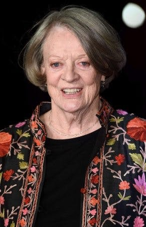 Maggie Smith (The Lady in the van)