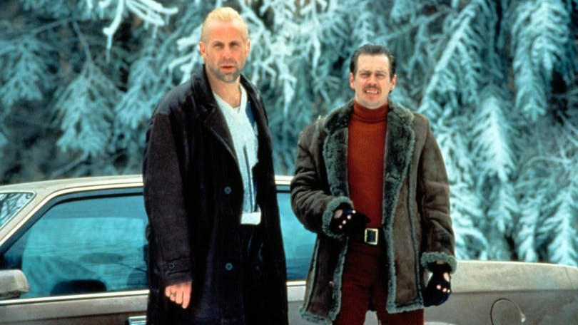 Peter Stormare och Steve Buscemi i Fargo.