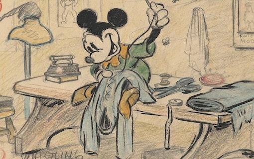 Unika bilder från Walt Disney Animation Studios