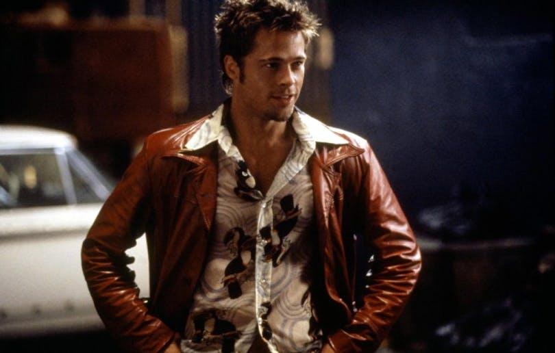 """Brad Pitt i """"Fight Club"""""""