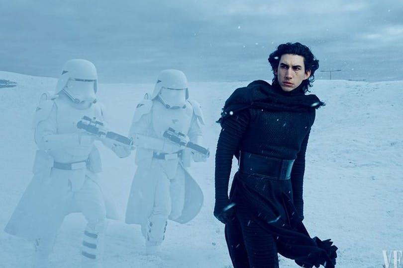 star wars the force awakens kylo ren adam driver