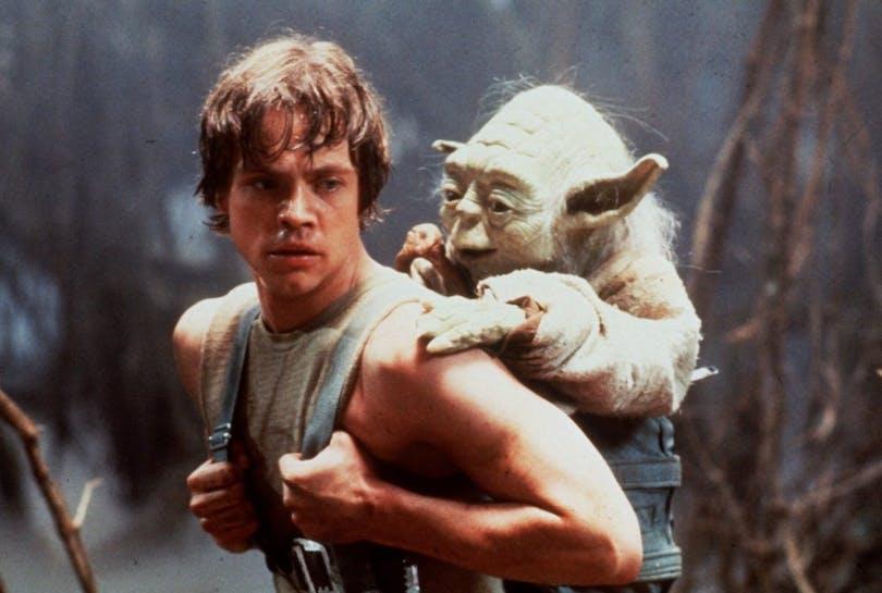 Mark Hamill som Luke Skywalker