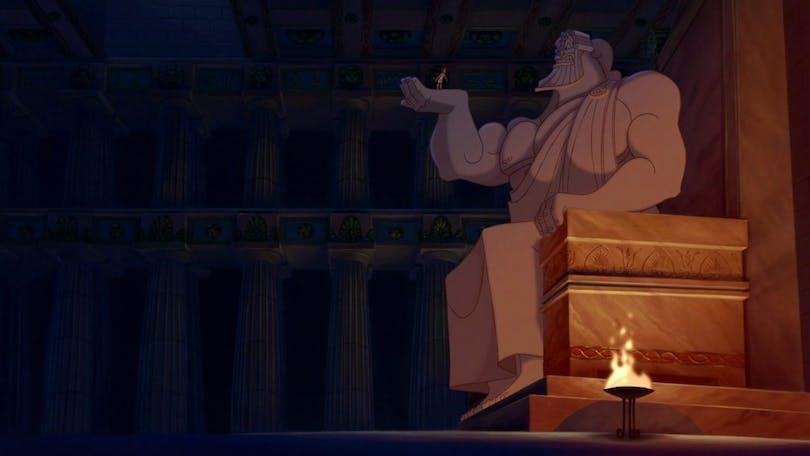 Hercules zeus disney