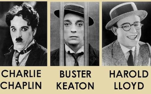 Del 3. Stumfilmens hjältar - Charlie Chaplin, Buster Keaton och Harold Lloyd