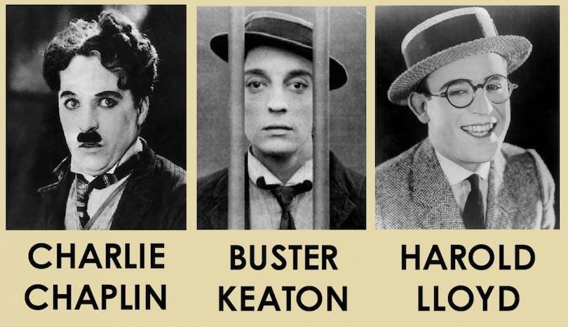 Keaton-Chaplin-Lloyd