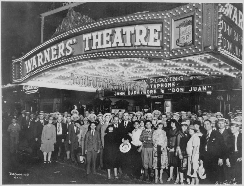 Movie theater 1920s