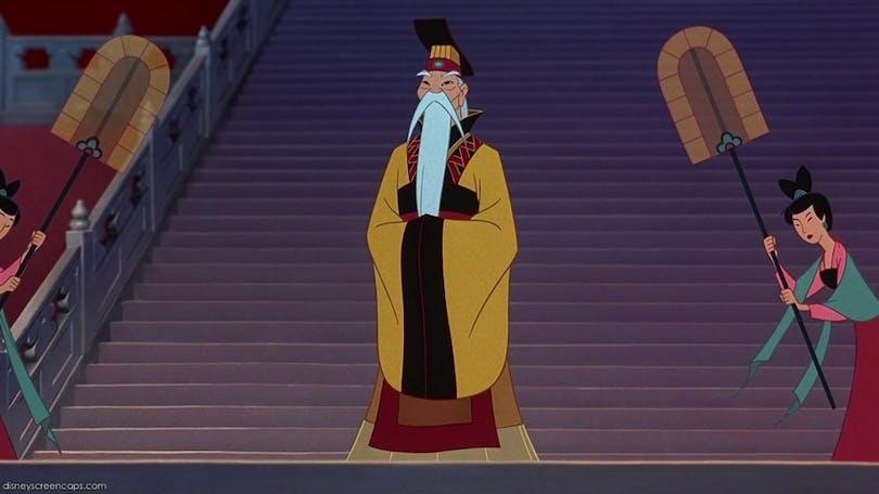 - The Emperor,Mulan (1998)