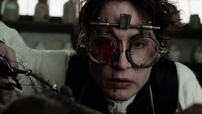 Johnny Depp i Sleepy Hollow