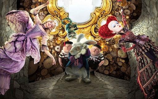 Alice i Spegellandet.