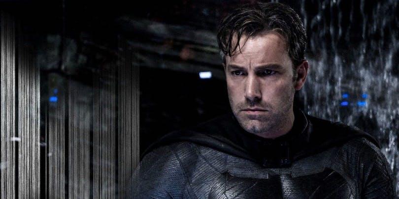 Bild på Ben Affleck som Batman.