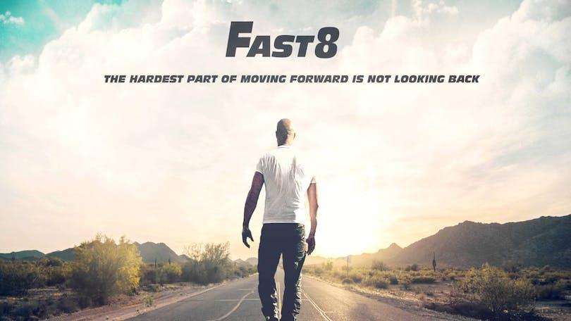Poster till Fast 8