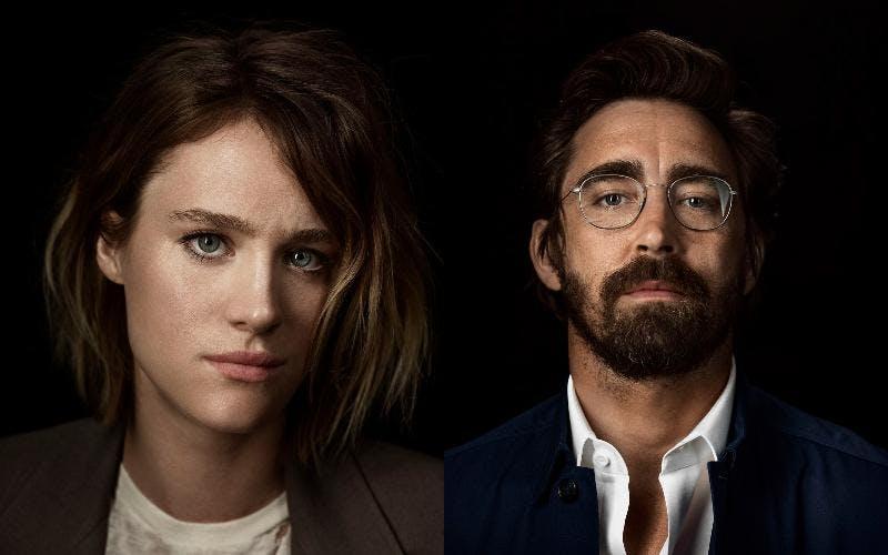 Mackenzie Davis och Lee Pace i Halt and Catch Fire. Foto: CMore.