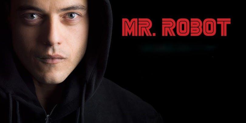 Rami Malek i Mr Robot säsong 3