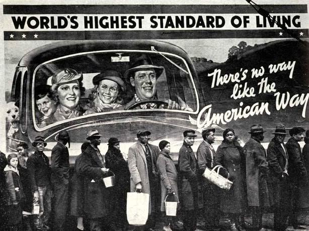 Den amerikanska drömmen.
