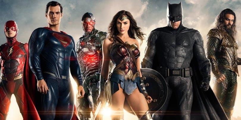 Justice League - mörka superhjältar