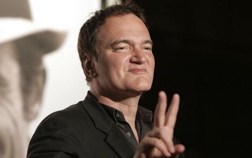Quentin Tarantino håller den svenska skivbutiken som världens bästa