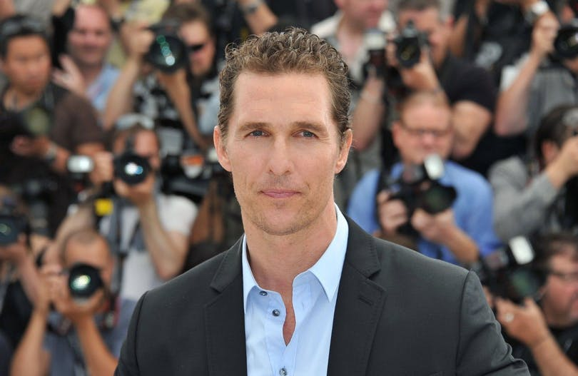Skådespelaren Matthew McConaughey.