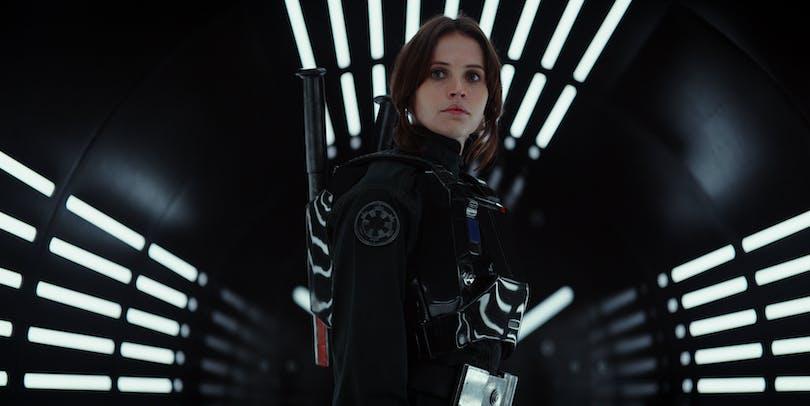 Felicity Jones i Rogue One