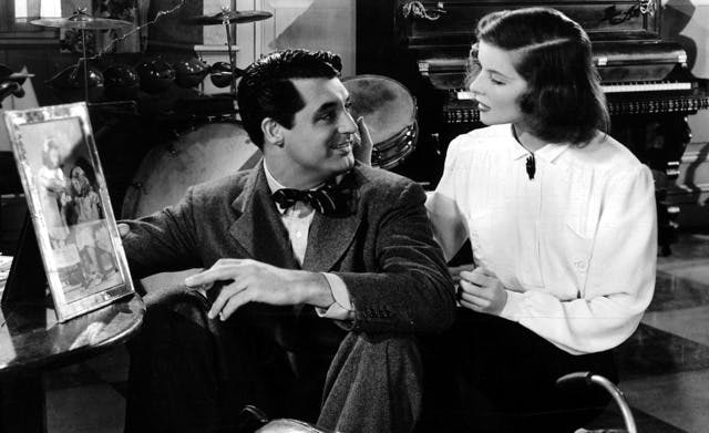 Title: HOLIDAY (1938) ¥ Pers: GRANT, CARY / HEPBURN, KATHARINE ¥ Year: 1938 ¥ Dir: CUKOR, GEORGE ¥ Ref: HOL010CH ¥ Credit: [ COLUMBIA / THE KOBAL COLLECTION ]