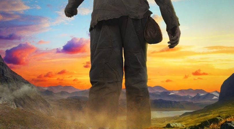 """Poster till filmen """"Jätten"""""""