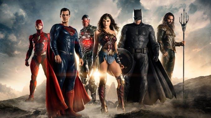 """Det tuffa gänget i """"Justice League"""" samlat"""