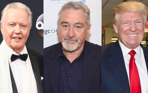 Robert De Niro och Jon Voight i bråk om Donald Trump