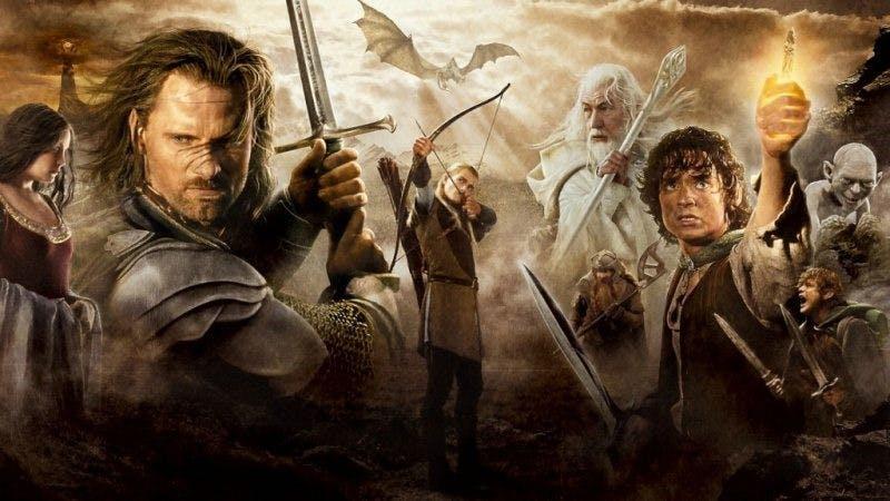 """Poster till den tredje filmen i """"Sagan om ringen""""-sagan"""